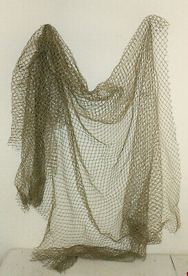 Authentic Used Commercial Fishing Net Vintage Fish Netting Old Reclaimed Party