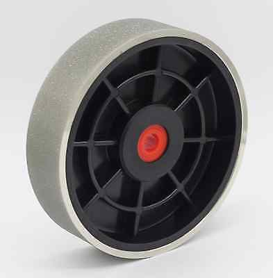 "6""x1-1/2"" 80Grit Diamond Coated Hard Flat Bench & Pedestal Grinding Wheel"