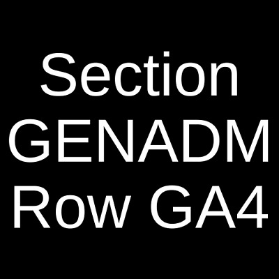 4 Tickets Killswitch Engage & Parkway Drive 5/1/19 Indianapolis, IN
