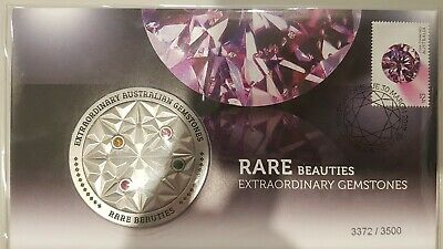 Australia: 2017 Rare Beauties Extraordinary Gemstones Medallion LIMITED