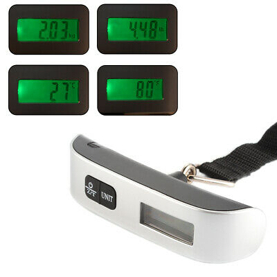 50kg/110lb Portable Handheld Digital LCD Electronic Luggage Weighing Scale TE823