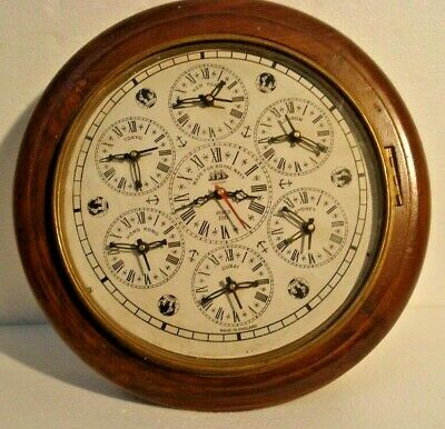 Wall Modern 1970 Now Clocks Collectibles Picclick