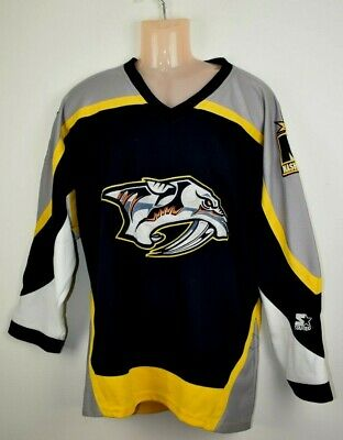 Nashville Predators Starter Ice Hockey Jersey small NHL shirt