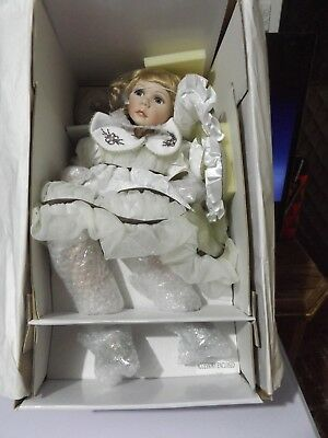 Hillview Lane Limited Edition Wonderful Doll Danielle With Certificate And Box.