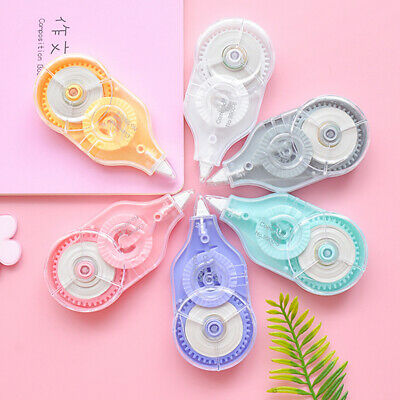 6pcs 72M Cute student Correction Tape Study Stationery Office School Supply Gift