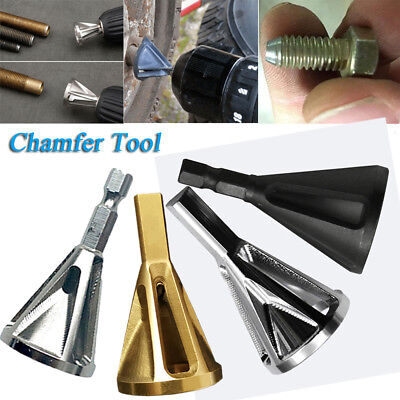 4 Colors Heliburr Deburring External Chamfer Stainless Steel Remove Burr Tools