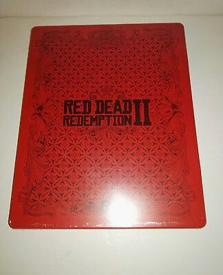 Red Dead Redemption II 2 Steelbook ONLY, NO Game Disc PS4/ Xbox One NEW