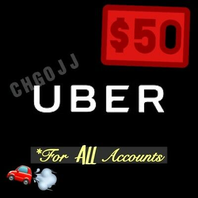 $50 In Uber Codes (10 x $5 Off a Ride) Good For ALL Riders!!!