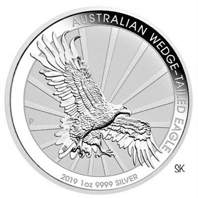 2019 Australian Wedge-Tailed Eagle Silver Coin