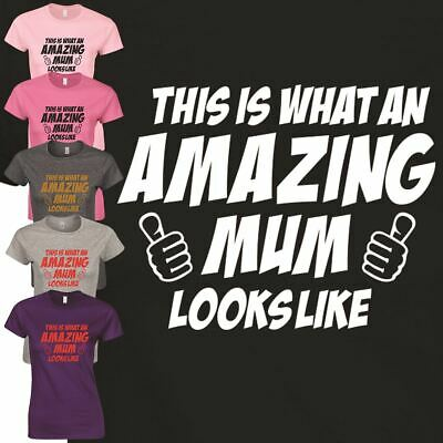 Mom Look Like Top Mothers Day Inspired T Shirt Funny Gift Happy Present Ladies