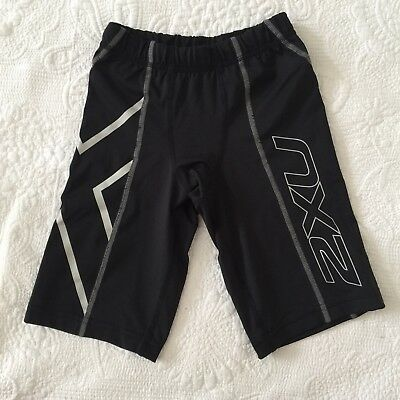KIDS Size S 2XU Compression Shorts Football Soccer Sport Active Wear