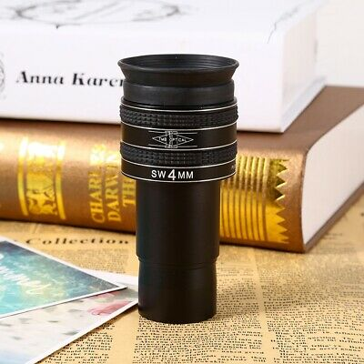 1.25inch SWA Wide 58° 4mm Multi-coated Lens Planetary Eyepiece For Telescope AU
