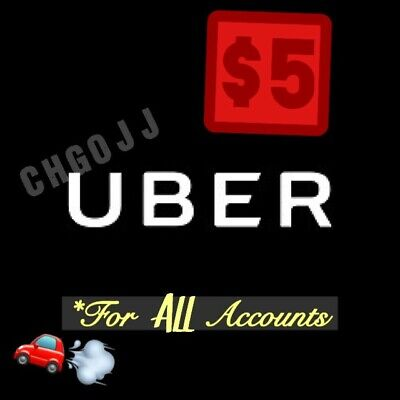 $5 Uber Code / $5 Off 1 Ride - WORKS 4 ALL ACCOUNTS!!!