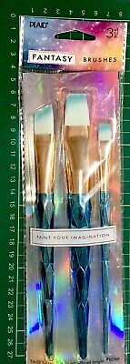 Plaid Fantasy Brushes ~Faceted Aqua Code 26843