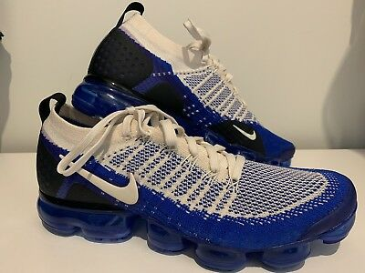 huge selection of 2319a c8fbe NIKE AIR VAPORMAX FLYKNIT 2 Blue/Cream Size US 10