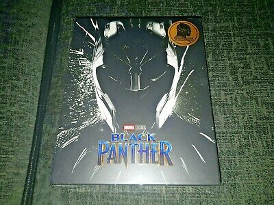 Black Panther 3D + 2D Blu-Ray BLUFANS One-Click Steelbook New & Sealed Sold-Out+