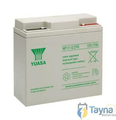 Yuasa NP17-12iFR Valve Regulated Lead Acid Batterie 12V 17Ah