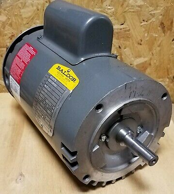 Baldor 65715 AC Motor Single Phase 1//12 HP 1400-1700 RPM