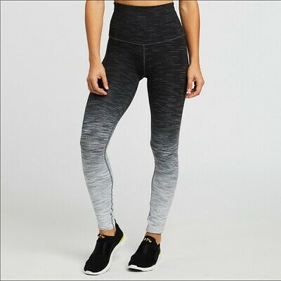 0f3692d11a NWT NEW Lululemon Soulcycle Crop Gray Athletic Workout Leggings Pants SIZE 2