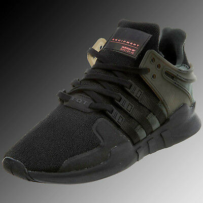 5cd3a30bff1f Adidas Eqt Support Adv Big Kids BB0238 Black Athletic Shoes Sneakers Size 7
