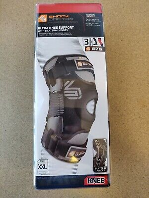 e1a5ae78a6 Shock Doctor 875 Ultra Knee Support With Bilateral Hinges Size XXL 2XL Brace