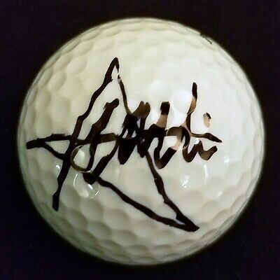 CHARLIE WI Signed GOLF BALL PGA Autographed