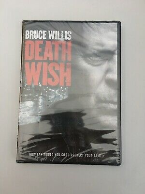 Death Wish (DVD, 2018) **DISC ONLY** LIKE NEW - NO CASE - XTRA MOVIES SHIP FREE