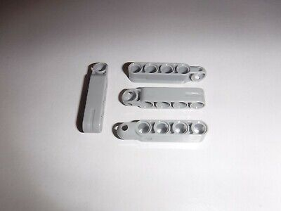 4 x NEW LEGO TECHNIC STEERING ARM 5 x 1 WITH TOWBALL SOCKET 6055628