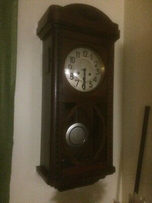 german wall clock 1930s
