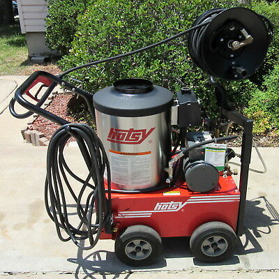 Used Hotsy 555ss (w/Hose Reel) Electric Hot Water Prw SN:172023  (1.109-033.0)