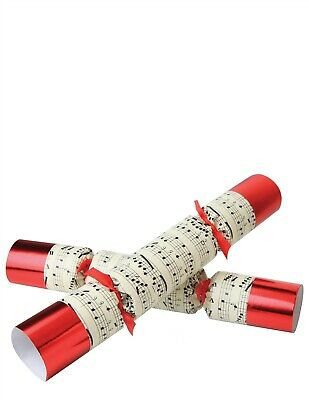 Victorian Trading Co Concerto Music Themed Christmas Crackers