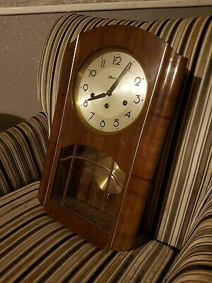 Antique Hermle Wall Clock, needs repaired or for spares