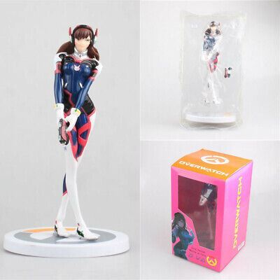 """8"""" Overwatch Song Hannah Mecha Pilots Figure OW D.VA Collectible Toy Gift In Box"""