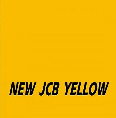 JCB NEW INDUSTRIAL YELLOW Agricultural Tractor Machinery Enamel Gloss Paint