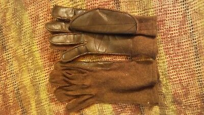 Us Iiww Gi Combat Gloves Repro Size L