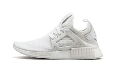 380170034bc16 Adidas NMD XR1 PK Triple White Boost Prime Knit BB1967 Running Shoes Men s  sz 8
