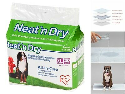 Pet Pee Training Pads Leak Proof Dog Puppy XL Pad Odor Blocking Floor Protection