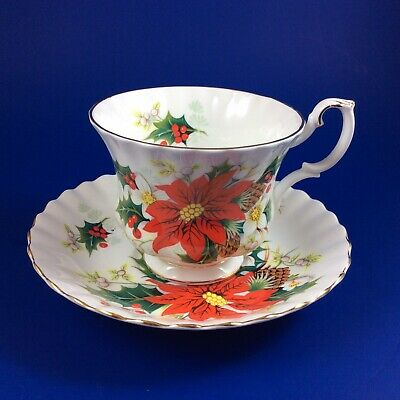 Royal Albert Yuletide Bone China Tea Cup And Saucer