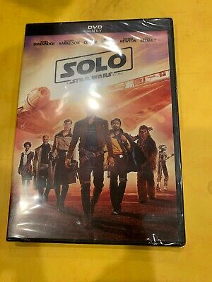 Solo A Star Wars Story DVD 2018 *BRAND NEW*