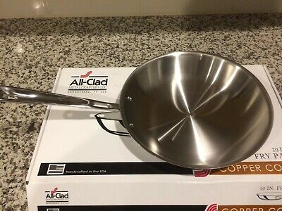 "All-Clad Metalcrafters 10"" Copper Core Frying Pan, 6110SS"