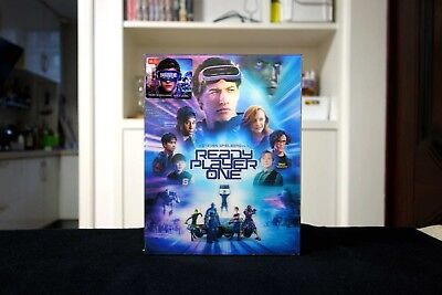 READY PLAYER ONE Blu-ray SteelBook HDZeta Exclusive Double Lenticular Edition