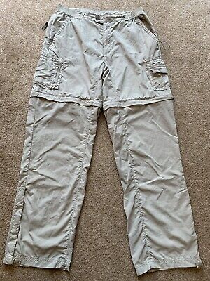 Columbia Titanium Women's Convertible Pants Packable Hiking  M Beige