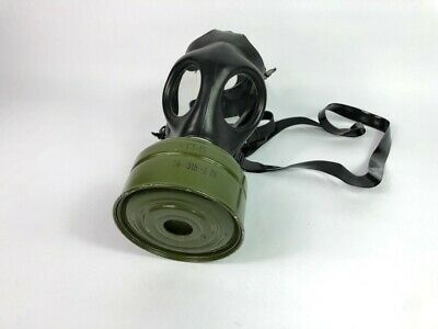 Israeli NATO 40mm Civilian-Protection Issue Model Gas Mask + RusGP-5 Filter Sz N