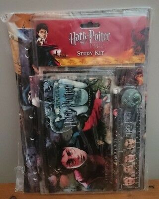 Harry Potter And The Goblet Of Fire Study Kit-Unopened