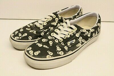 2d7c900923 Vans Era Van Doren Repeat Skull men s size 8 women s 9.5 skate shoes  preowned