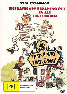 They Went That-A-Way & That-A-Way - Tim Conway - Dvd - Free Local Post