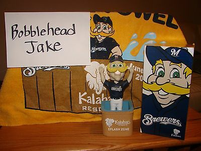 Nib 2010 Bernie Brewer Mascot Milwaukee Brewers Bobblehead Sga 4/11/2010