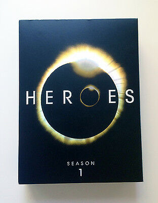 HEROES SEASON ONE Complete on DVD — Excellent Condition!