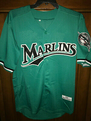 cd58238dc96 ANDRE DAWSON FLORIDA Marlins retro jersey teal green M L -  41.99 ...
