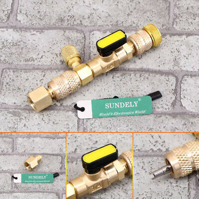 """1pcs useful 1/4"""" 5/16"""" Dual Size Valve Core Remover Installer for HVAC/AC Tool"""
